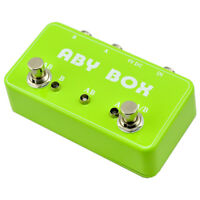 New Hand Made ABY Switch Box For Effects Pedal-True Bypass AMP / Guitar AB G