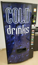 New Listingdixie Narco 501e Drink Vending Machine Complete With Credit Card Reader