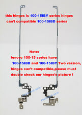 New IBM Lenovo IdeaPad 100-15IBY laptop Hinges L+R(can't compatible 100-15IBD)