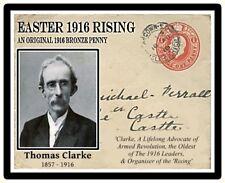 Ireland Easter 1916 Commemorative Card & Coin,  Tom Clarke