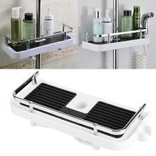 Bathroom Pole Shelf Shower Storage Caddy Rack Organiser Tray Holder Accessory HG
