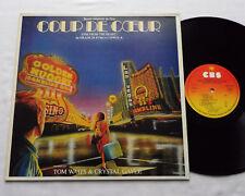 OST - B.O.F. Tom WAITS Coup de coeur FRENCH LP CBS 70215 (1982)F.F.COPPOLA - EX+