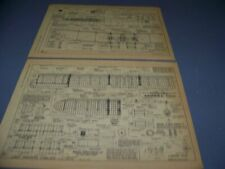 HANDLEY-PAGE  MODEL O/400..INBOARD/STRUCTURE/3-VIEWS/SPECS.. (870V)