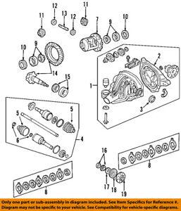 FORD OEM Rear-Axle Seals 7L1Z4A109B