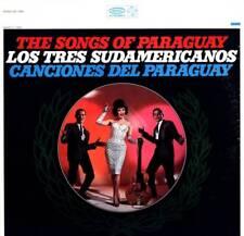LP THE SONGS OF PARAGUAY LOS TRES SUDAMERICANOS