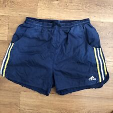 Adidas Vintage Running Shorts Blue Medium