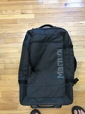 MARMOT Rolling Hauler Carry On Duffle Luggage Gear Bag Travel Suitcase
