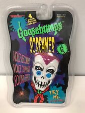 Goosebumps SCREAMER Voice Recorder/Changer with 4 Eerie Sound Effects TIGER 1996