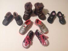 Baby Mädchen Größe 4.5 + 5 + 7 X5 Clarks Mothercare Next Schuhe Stiefel Konvolut