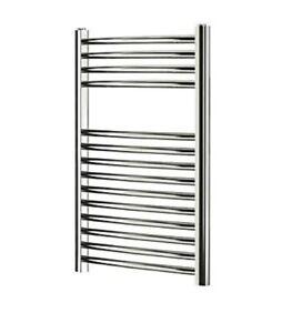Blyss 165W Chrome Towel warmer (H)700mm (W)400mm