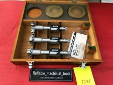 Mitutoyo Digital Bore Holtest Inside Micrometer 20 To 32 Inch W 2 Rings T298