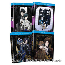 Black Butler: Anime Series Complete Seasons 1 2 3 Book of Murder BluRay/DVD Sets