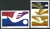 Australia MNH 1974 Stamp Set [7c+30c] Centenary of Universal Postal Union Issues