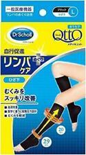 Dr. Scholl Medi QttO Leg Slimming Open-toe Knee-length Tights L-size Black