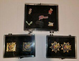 Disney Pin Lot (9 Pieces) In Original cases