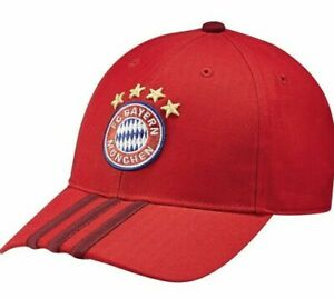 ADIDAS BAYERN MUNICH 3-STRIPES CAP ONE SIZE