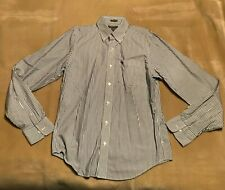 Mens Abercrombie & Fitch Striped Shirt Size Large Muscle Fit. Good Condition