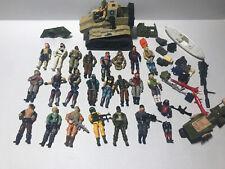 GI Joe Figure Lot 24 figures and pieces