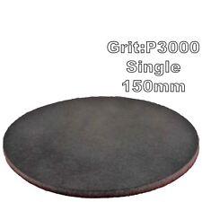 """Mirka Abralon 150mm 6"""" P3000 Grit 1x HookNLoop Foam Fine Finishing Discs Pad"""