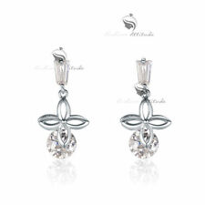 Flowers & Plants Crystal Stud Fashion Earrings