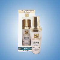 Anti Aging Moisturizer Serum Eye Gel H&B Dead Sea Minerals Paraben Free - 50 ml