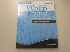 Signature Advanced Microsoft Word 2010 Instructor's Guide Paradigm 0763838918