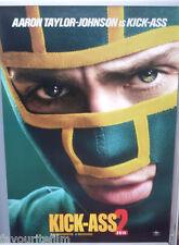Cinema Poster: KICK-ASS 2 2013 (Kick-Ass One Sheet) Aaron Taylor-Johnson