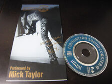 Mick Taylor Laundromat Blues Japan Promo only 3 inch CD Single Rolling Stones