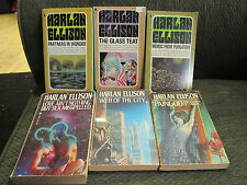 13 book Lot harlan ellison other glass teat memos from purgatory 1st pb paingod!