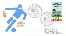 Repubblica Italiana 1987 FDC Venetia Club Napoli Campione d'Italia 86/87 (E)