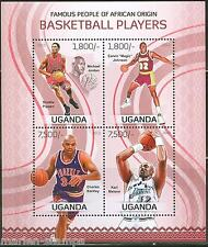 UGANDA FAMOUS PEOPLE OF AFRICAN ORIGIN BASKETBALL PLAYERS PIPPEN MALONE BARKLEY