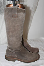 Bottes STREET SHOES Cuir Gris T 36 BE