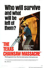 Texas Chainsaw Massacre - A4 Laminated Mini Poster