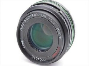 USED Pentax DA 70mm f/2.4 Limited Excellent FREE SHIPPING
