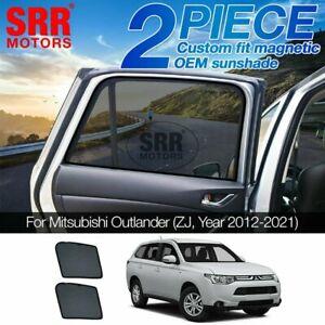 Custom Magnetic Sun Shade Rear Door Car Window Mitsubishi Outlander ZJ 2012-2020