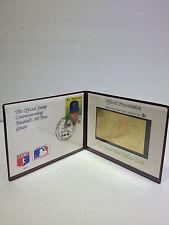 NOLAN RYAN BASEBALL'S ALL TIME GREATS 23 KARAT GOLD CARD & ST.VINCENT STAMP #761