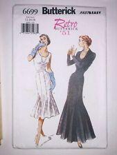 Butterick Retro 1950s Sew Pattern 6699 Gored Trumpet / Mermaid Skirt 12-16