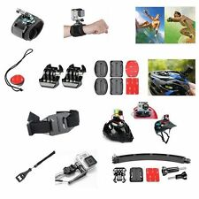 NEW 30 in1 Pole Head Chest Mount Strap GoPro Hero 2 3 4 5 Camera Accessories Kit