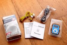 MP3 Player Intenso Music Mover, blau, inkl. Zubehörpaket 8GB microSD-Card