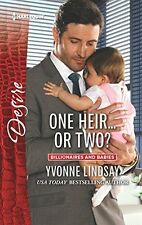One Heir...or Two? (Billionaires and Babies) by Yvonne Lindsay