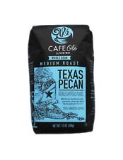 HEB Cafe Ole Coffee Ground Texas PECAN, 12-Ounce Bags 3 Pack