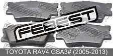 Pad Kit, Disc Brake, Rear For Toyota Rav4 Gsa3# (2005-2013)