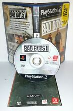 BAD BOYS II 2 - Ps2 Playstation Play Station 2 Gioco Game