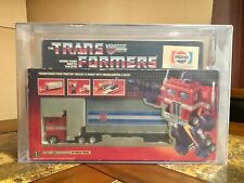 TRANSFORMERS HASBRO 1984 OPTIMUS PRIME PEPSI VERSION NEW G1 AFA 70 UBER RARE!