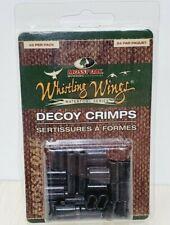 24 pack Decoy Crimps Black Anodized Aluminum Whistling Wings