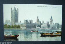 Hand Coloured/Painted Unposted Collectable London Postcards