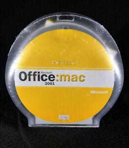Microsoft Office Mac 2001 SPANISH CD PWRMAC- BRAND NEW SEALED  731-00307