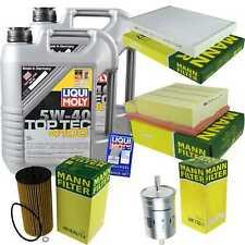 Inspection Kit Filter LIQUI MOLY Oil Oil 10L 5W-40 for Audi A4 Cabriolet 8H7