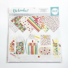Oh Goodie Glassline Paper Ombre We R Memory Keepers 24 Sheets Goodie Bags