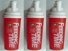 Maximuscle Protein Shaker Gym Drink Cup British & Irish Lions 2x 700ml Shakers